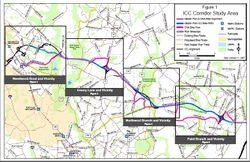 ICC bikeway map