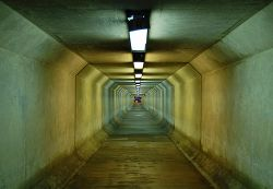 Pentagon tunnel