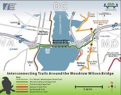 Trails around the WWB