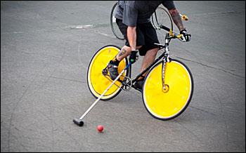 Bike polo