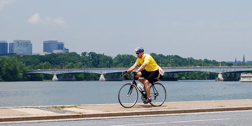 Sidewalk cycling 2