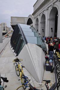 Bike station beak