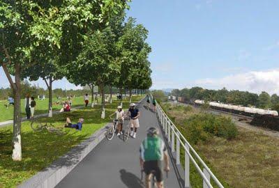 Long Bridge Park Esplanade