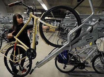 Toronto bike station