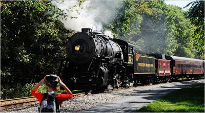 GAP Train and trail