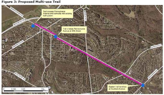 Roads Penn Ave Trail