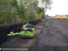 Met Branch Retaining Wall