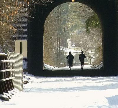 CCT with snow tunnel