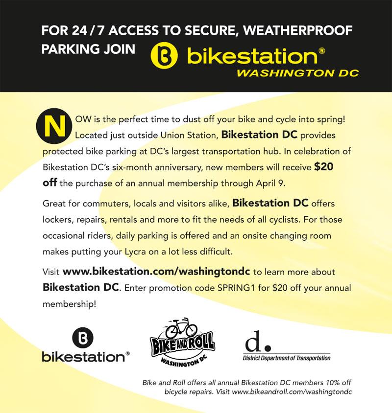Bikestation deal