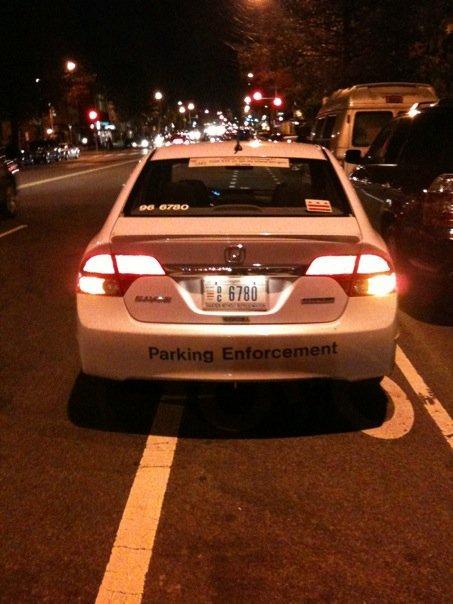 Parking bike lane