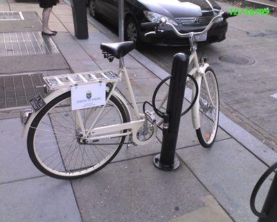 Swedish Embassy Bike