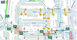 (Fig 2-22) 12-244-08-Pedestrian and Bike Related Recommendations Newton Street, 18th Street, 17th Street and Park Road.pdf (applicationpdf Object) - Mozilla Firefox 382010 114847 PM.bmp
