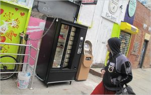 Gear vending machine