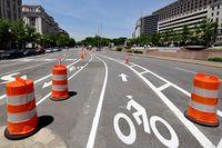 Penn Ave bike lane