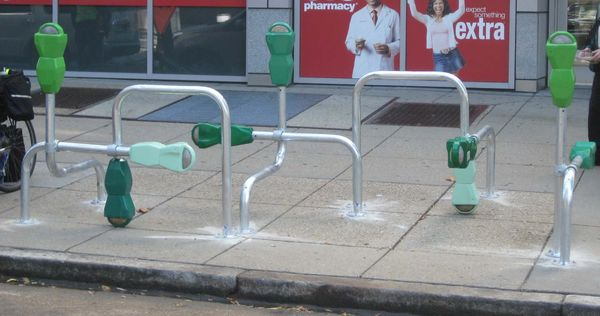 GTBID (Re) Cycle Bike Rack Image