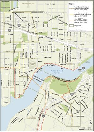 Bicycle Route Map