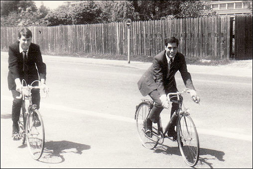 Romney on bike