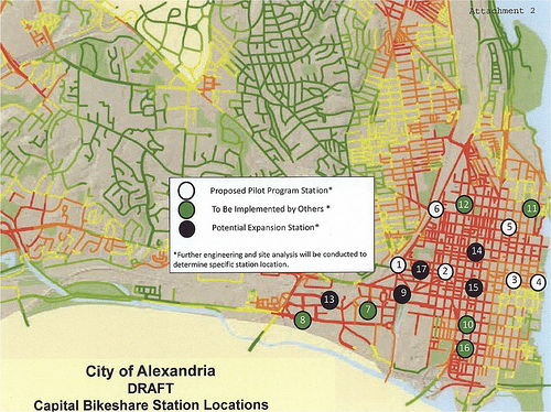 Alexandria CaBi locations