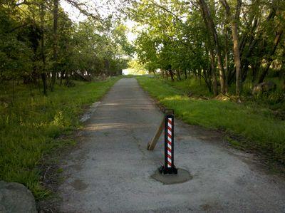 Oxon Hill Trail Bollard
