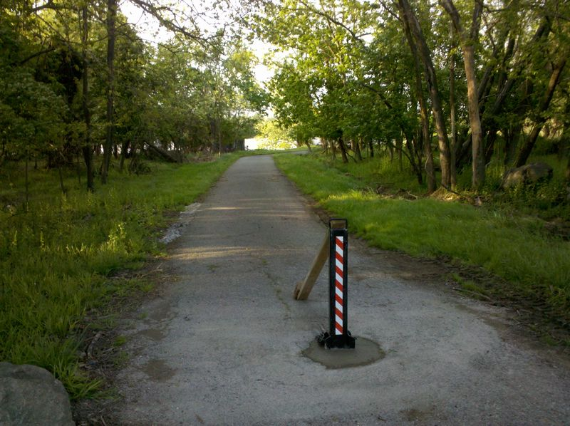 Oxon Hill Trail Bollard