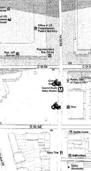 Map cap south