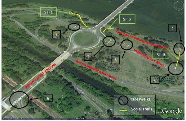 Memorial Circle Crosswalks