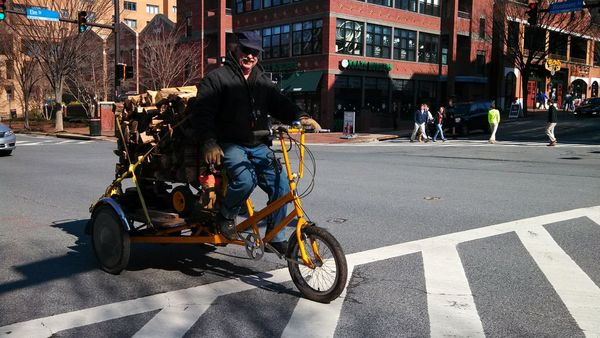 Bike delivery DC