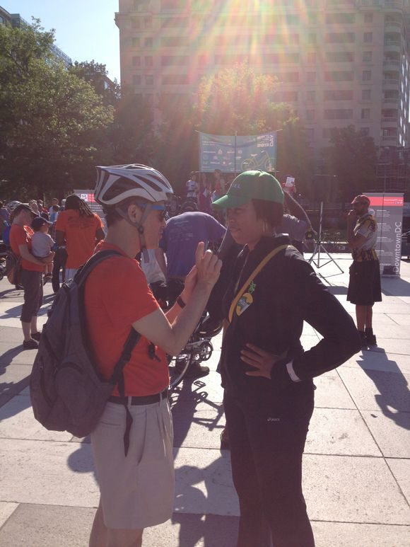 Muriel Bowser at BTWD
