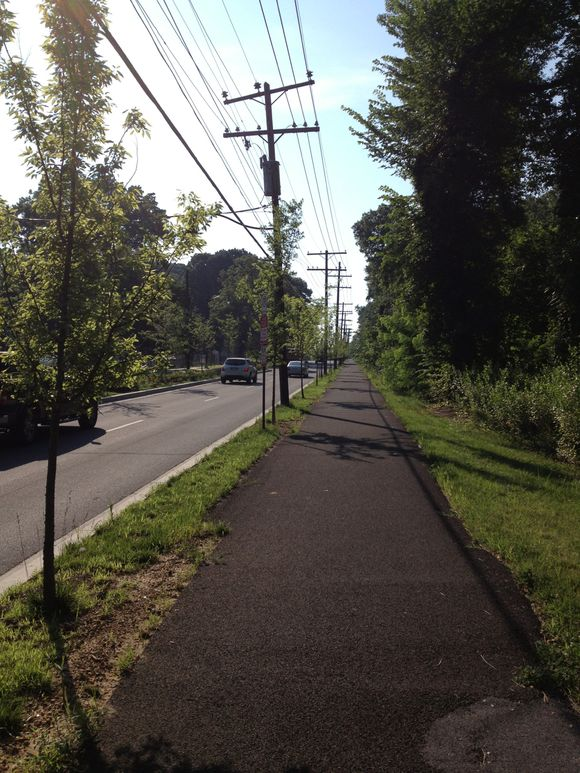 Penn Ave SE sidepath