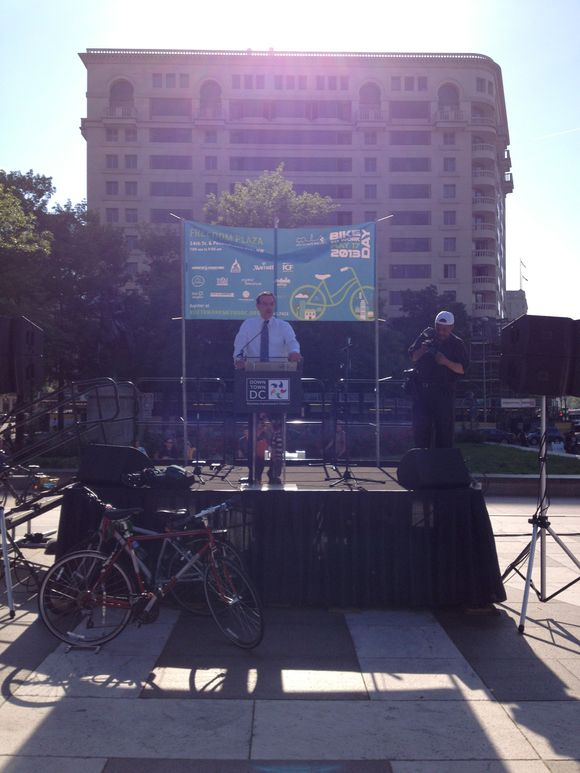 Mayor Gray at BTWD