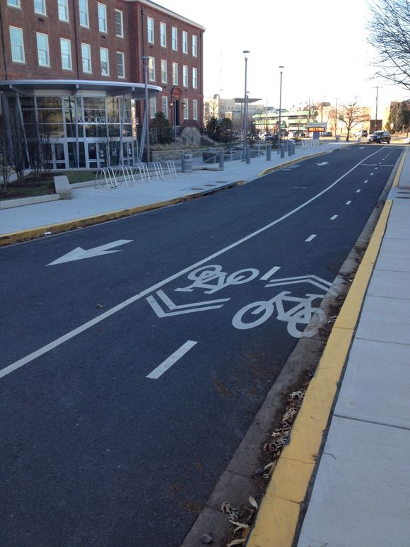 Woodrow Wilson high school cycle track