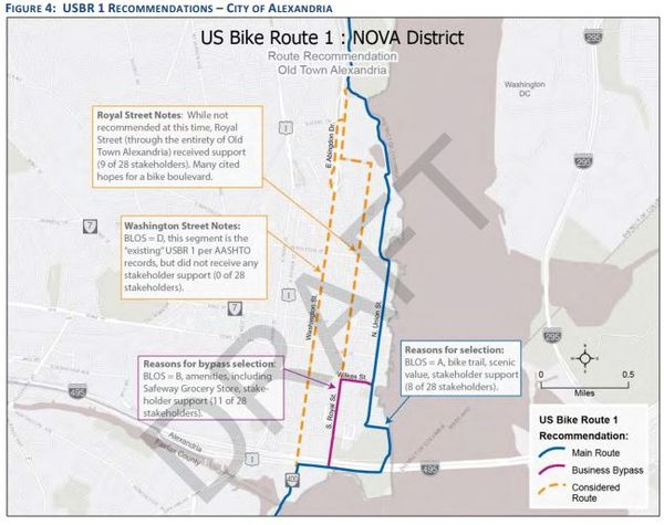 TheWashCycle Bike Routes - Us bicycle route system map