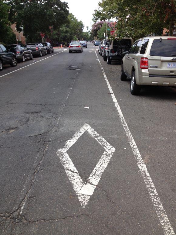 Historic DC Bike Lane