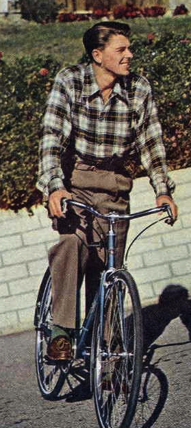Reagan-on-Bike