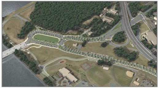 East Oval rendering