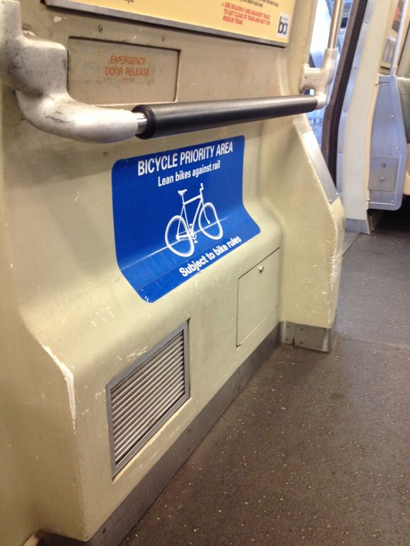 Bicycle priority area