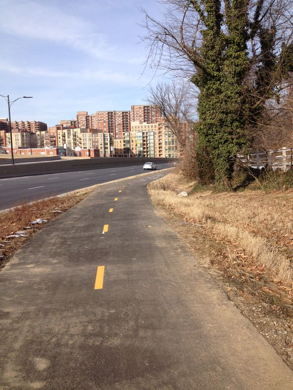 New route 50 east side trail
