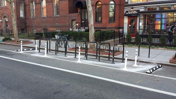 Bike parking stand