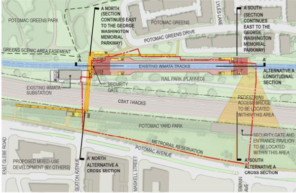TheWashCycle Potomac Yard Metro Station Presents Several Bridge - Yard mapping program
