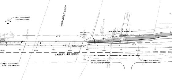 Sidewalk transiton