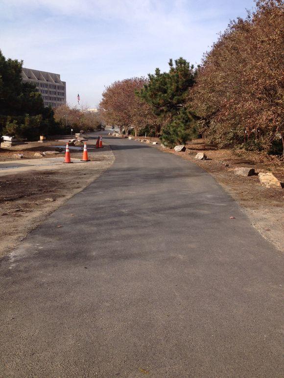 Trail along Washington Avenue part of disabled American veterans memorial