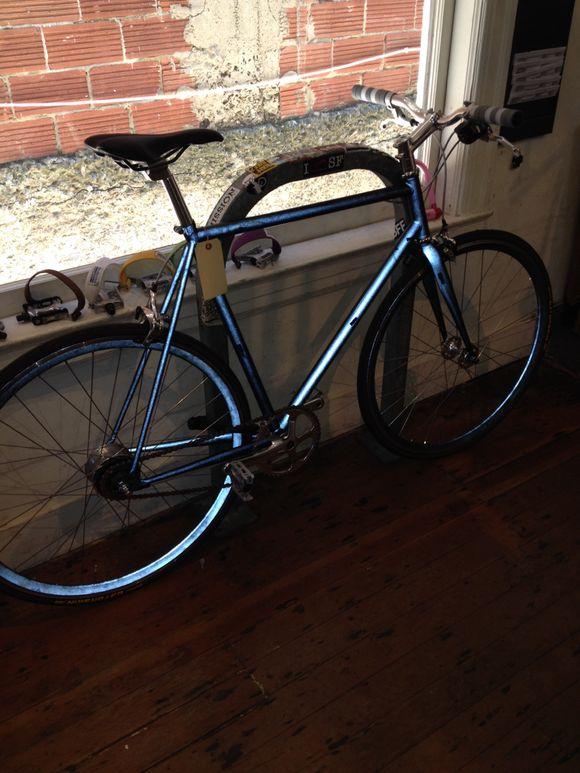 Bike with lumen frame and wheel