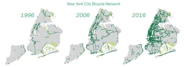 Bike New York Map.Thewashcycle New York City Bicycle Safety Report Ridership Up