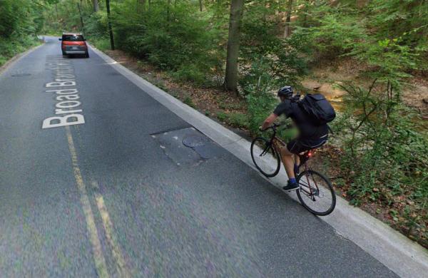 Cyclist gutter