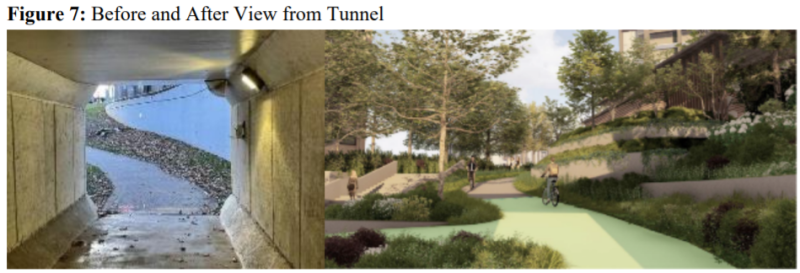 Veiwfromtunnel