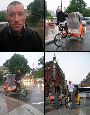 Pedicabmontage