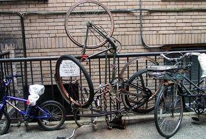 Notbikerack